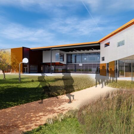 Back rendering of Norman ES