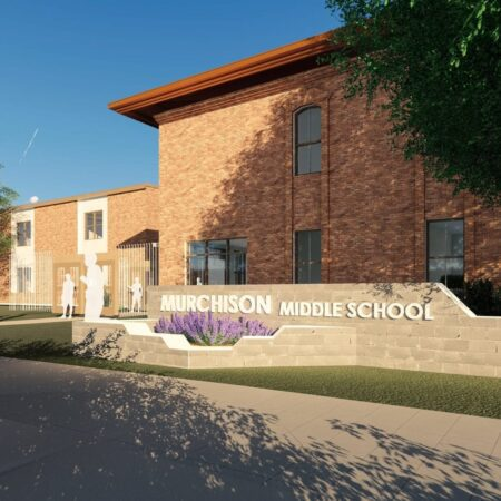 Murchison MS Exterior Entry