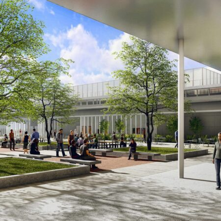 Eastside Memorial ECHS Rendering