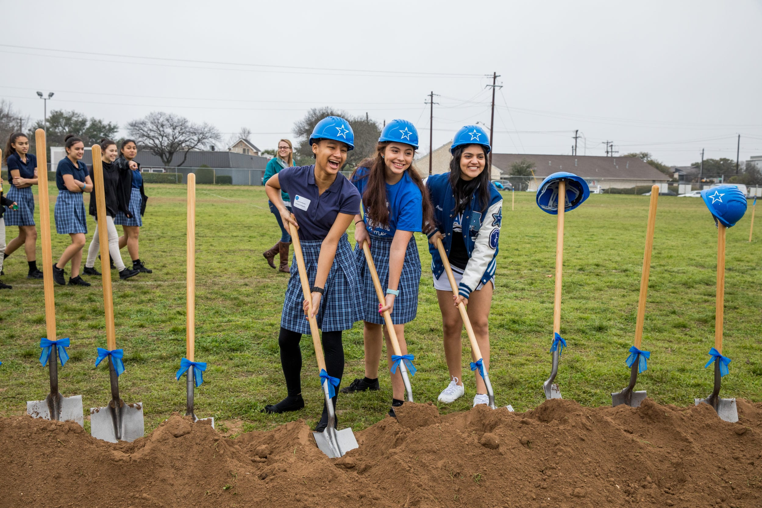 Ann Richards School Groundbreaking