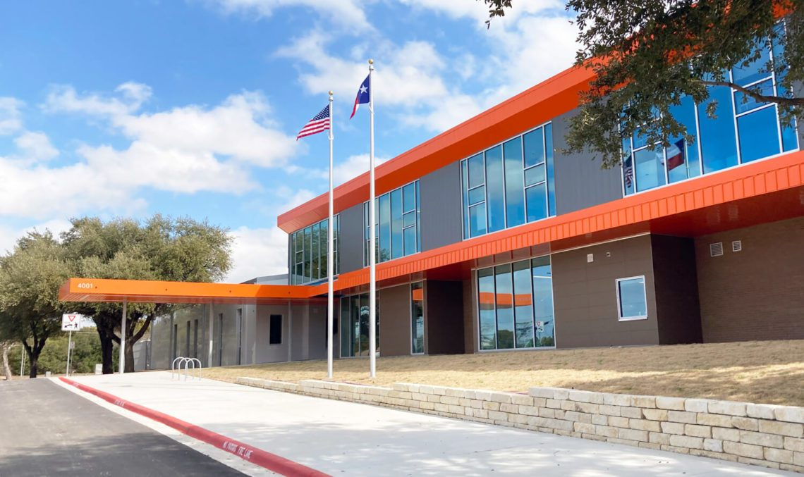 Norman Sims Elementary School exterior view